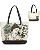 Loungefly Disney Beauty & the Beast Belle Don't Judge a Book By its Cover Purse