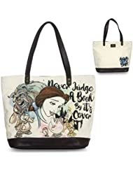 Loungefly Disney Beauty & the Beast Belle Dont Judge a Book By its Cover Purse