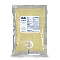 GOJO 2157-04 MICRELL Antibacterial Lotion Soap, 1000 mL NXT Space Saver Refill (Pack of 4),Compatible with Dispensers #2125-06-FSW00, 2125-06