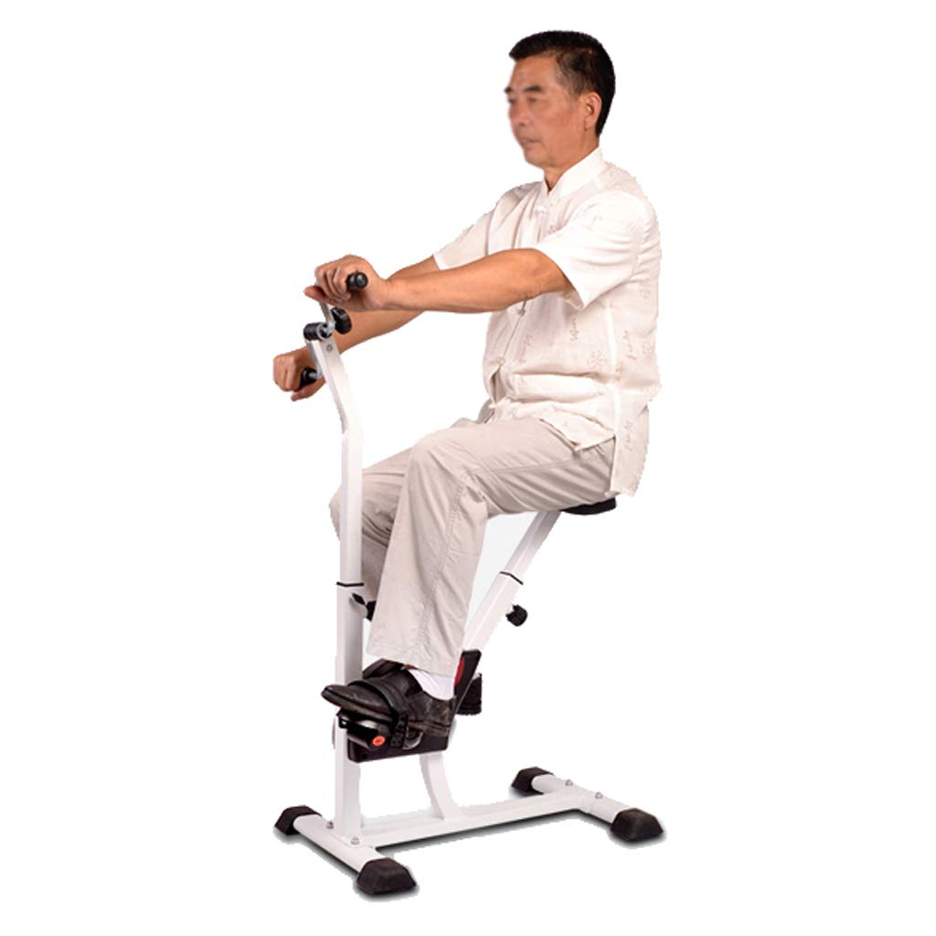 Zhiniu Eignungs-Fahrrad, Alter Mann-Rehabilitations-Fahrrad-ältere Haushalts-Eignungs-Ausrüstungs-Training Arbeiten Innenspinnendes Fahrrad 45  65  108CM aus