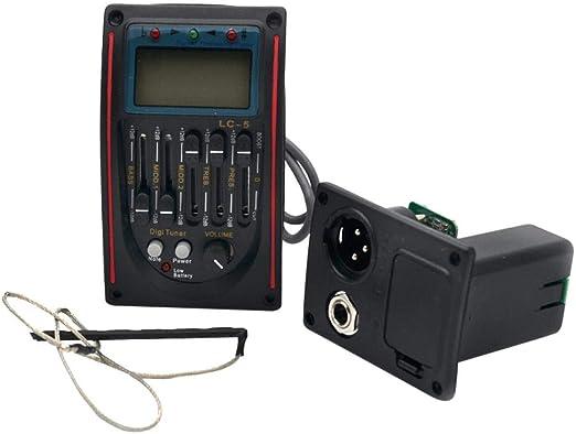 poetryer Micro LC-5 - Micrófono para Guitarra y acústica ...