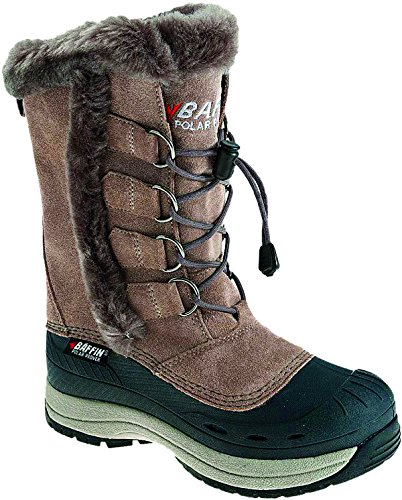 Snowmobile Boots Taupe/Brown 8 ()