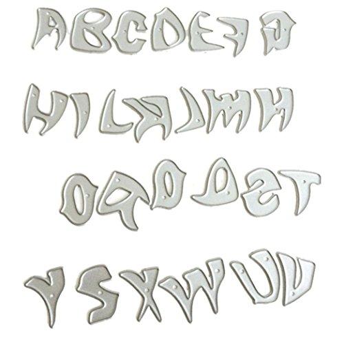 2018 Metal Cutting Dies Stencils For DIY Scrapbooking Photo Album Paper Card Gift by (Metal Etching Stencils)