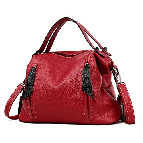 Morbida Sintetica Per Pelle Donna Borsa Red Black Messenger In YnBRqRxp