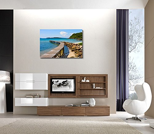 Beautiful Scenery Landscape Tropical Beach in Island Koh Kood Thailand Wall Decor