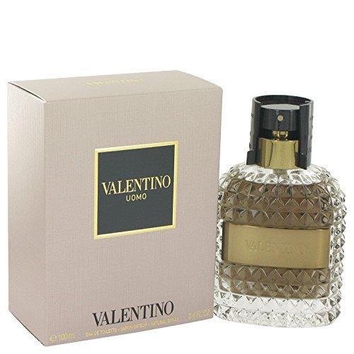 NIB Valentino Uomo Cologne EDT Spray FOR MEN - 3.4 - Valentino Pink