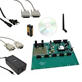 Airborne Embedded Wireless Device Server, universal interface (UART, RS-232/422/485, SPI Analog, Digital) to 802.11b/g Serial Module, Evaluation & Design Kit.