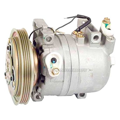 (Reman AC Compressor & A/C Clutch For Nissan Frontier & Xterra 1999-2002 - BuyAutoParts 60-01488RC)