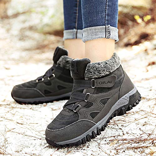 Zapatos Mujer 2018 ZARLLE Vintage Moda Mujer Botas De Montaña Al Aire Libre Que Acampan Que Sube Los Instructores Botas De Tobillo Deportes De Trekking ...