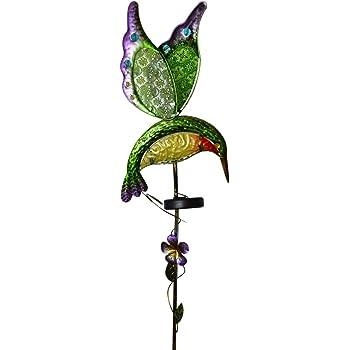 Moonrays 92549 Solar Powered Garden Dancing Bird Led Stake