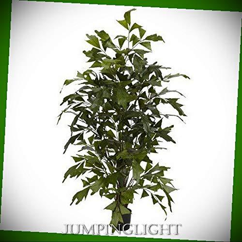 JumpingLight 5330 4.5' Fishtail Palm Silk Tree Artificial Flowers Wedding Party Centerpieces Arrangements Bouquets Supplies