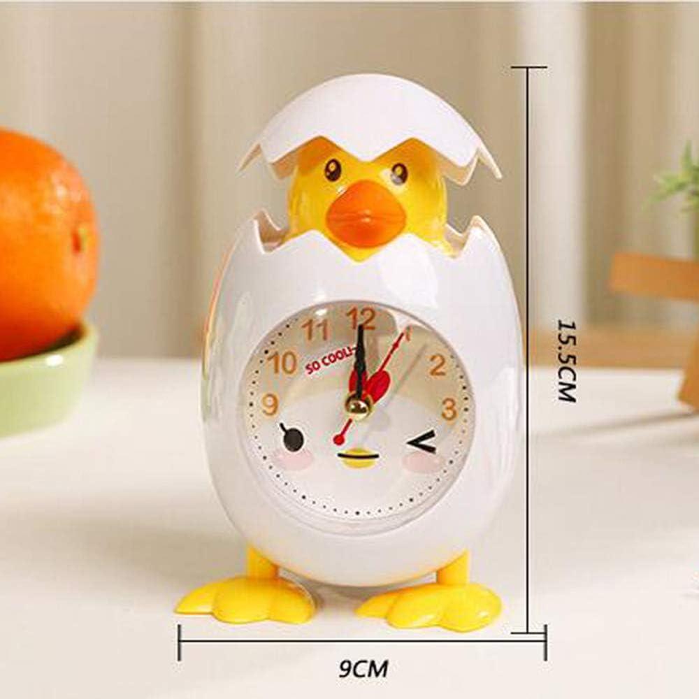 CHUSHENG Reloj Despertador De Dibujos Animados De Moda con ...
