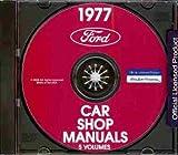 1977 LINCOLN REPAIR SHOP & SERVICE MANUAL CD -Continental & Mark V