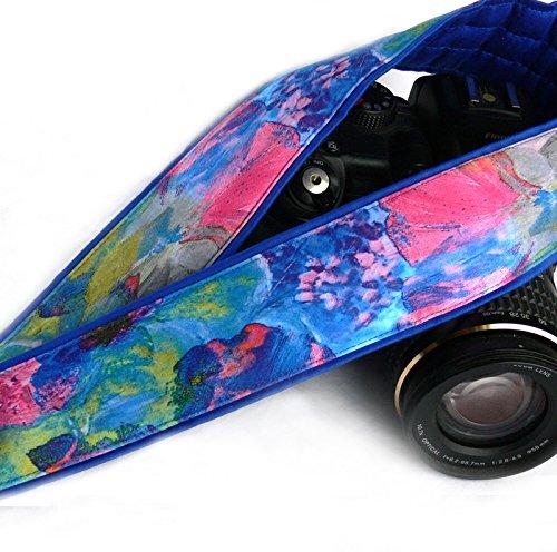 Camera Strap. Abstract Design DSLR Camera Strap. Watercolor Camera Strap. Colorful Camera Strap. Camera Accessories; 163