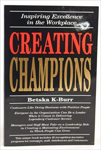 Book CREATING CHAMPIONS