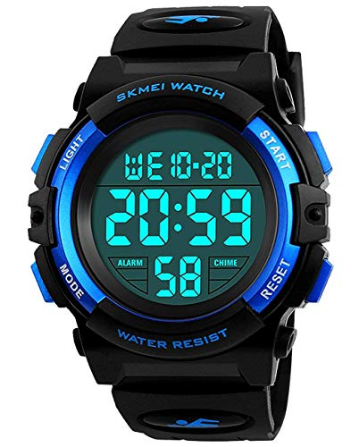 Self-Conscious 2018 Sanda Band Digital Led Outdoor Sports Shock Watch Men Casual Multifunction Wristwatch Military 30m Water-resistant Horloges Men's Watches Digital Watches