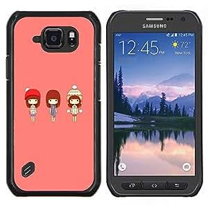 For Samsung Galaxy S6Active Active G890A Case , Naturaleza Hermosa Forrest Verde 185- Diseño Patrón Teléfono Caso Cubierta Case Bumper Duro Protección Case Cover Funda