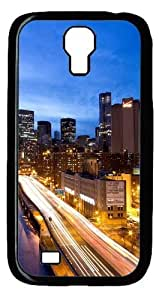 Cool Painting Samsung Galaxy I9500 Case and Cover -Manhattan by night Polycarbonate Hard Case Back Cover for Samsung Galaxy S4/I9500