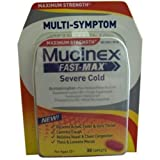 Mucinex Fast Max Maximum Strength Multi Symptom Severe Cold Relief Caplets, 30 each -- 6 per case.