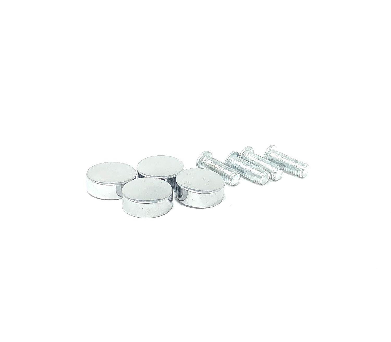 Blank//Plain Heavy Metal Stainless Steel Mirror Chrome License Plate