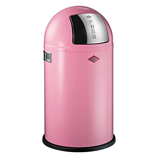 Wesco 175 531 26 Pushboy Jr Abfallsammler Pink Amazon De Kuche
