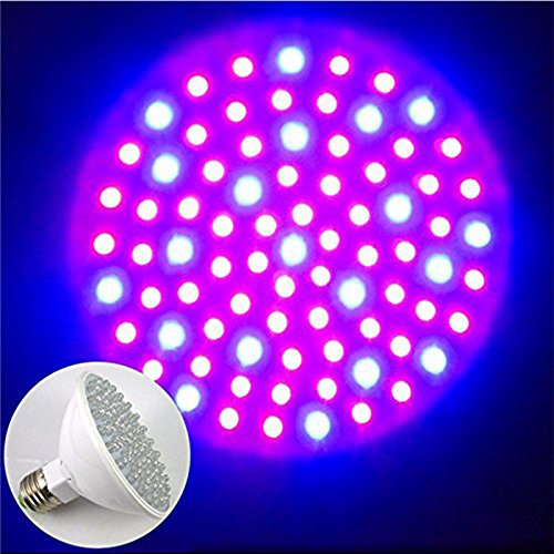 Blue Led Grow Light Bulb - 7