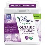 Plum Organics Grow Well Organic Infant Formula, 32 Ounce (Packaging May Vary)