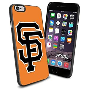 San Francisco Giants Cool Logo Apple Smartphone iPhone 6 4.7 inch Case Cover Collector TPU Soft Black Hard Cases by runtopwell