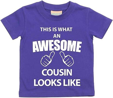 Ive /ét/é Promues pour Grand Cousin Bleu T-shirt B/éb/é Tout-petit Enfants Disponible en Tailles de 0-6 Mois nouveau b/éb/é cousin Cadeau Bleu 12-18 mois