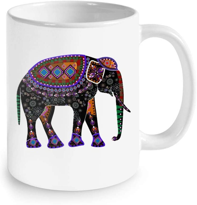 Amazon Com Cute Gift For Elephant Lovers Egyptian Elephant Design Elephant Coffee Mug 11oz Elephant Gift Ideas Coffee Cups Mugs