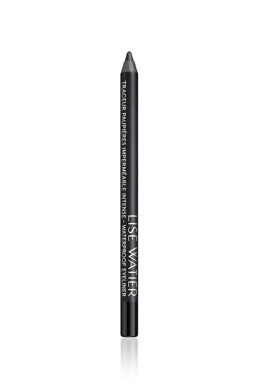 Lise Watier Intense Waterproof Eyeliner, Blackest Black, 0.04 oz