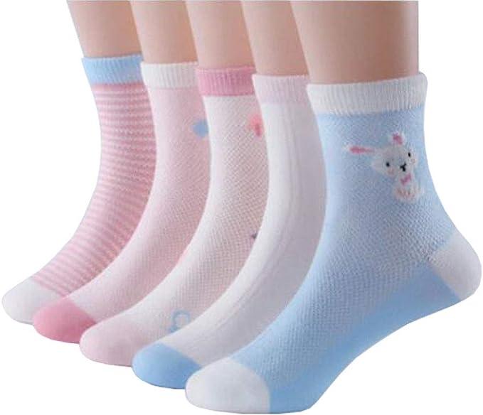 Chinashow - Calcetines de algodón multicolor, sin costuras ...