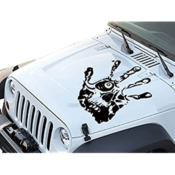Amazoncom Jeepazoid Jeep Wrangler Decal Jeep Splatter - Jeep hood decalsgraphics for jeep wrangler hood decals and graphics www