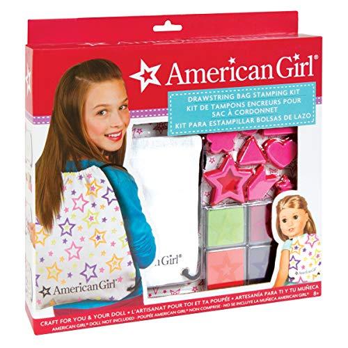 American Girl Drawstring Backpack Kit by Fashion Angel