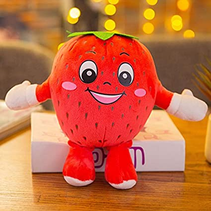 Peluches frutas y verduras