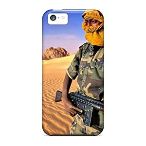 NadaAlarjane Case Cover Protector Specially Made For Iphone 5c Tuareg Rebel
