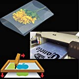 400 sheets,A4,8.27''x11.7'' ,Waterproof Inkjet Silk Screen Printing Transparency Positive Film 210x297mm