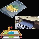 400 sheets,A4,8.27''x11.7'' ,Waterproof Inkjet Silk Screen Printing Transparency Positive Film 210x297mm