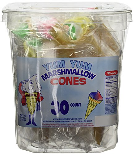 Yum Marshmallow Cones 30ct product image