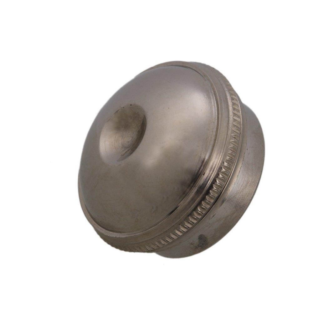 yibuy 0, 75x 0.43Flauta de plata tono latón niquelado cabeza conjunto corona headjoint Cap etfshop YB6395
