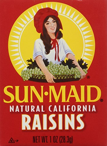 Sun Maid Raisins Mini Boxes - Natural California - 1 oz - 6 ct ()