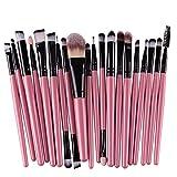 #8: Clearance Deals Makeup Brush Set,Laimeng_world 2018 Professional Fashion 20pcs Make up Brushes Kits Cosmetic tools Kit Valentine Gift (C)
