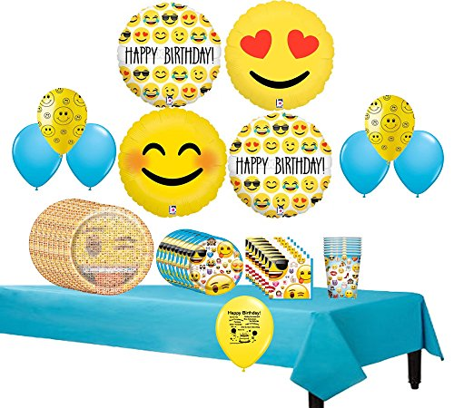 Emoji Movie Blue Party Pack - Serves 8