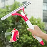 PLAY DESIGN Spray Type Cleaning Brush Glass Wiper Window Clean Shave Car Window Cleaner Brush,