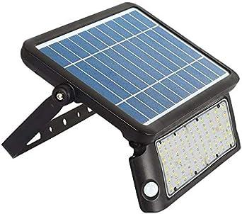 Proyector LED SOLAR PEEL 10W, negro con sensor de movimiento y ...