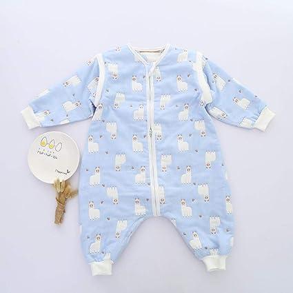 Gleecare Saco de Dormir para bebé,Gasa de algodón no Partida Saco Cuatro Temporadas bebé