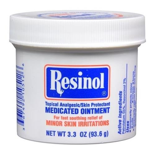 Resinol Medicated Ointment 3.3 OZ - Buy Packs and SAVE (Pack of 3)
