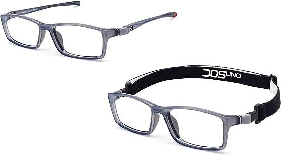 DOSUNO TRACK gafa para graduar con varillas intercambiables y banda de sujeci/ón