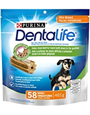 DentaLife Daily Oral Care, Dental Dog Treats for Mini Breed Dogs - 58 ct Pouch