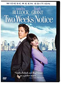 Two Weeks Notice (Snapcase, Widescreen)